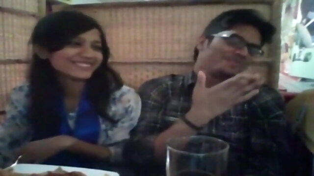 Desi pretty couple.. beeg asian free blowjob
