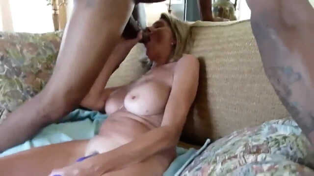 Wife begs bbc to.. beeg blonde free creampie